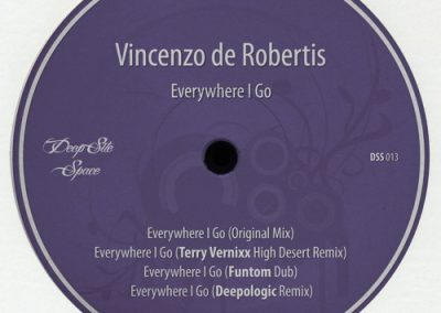 Vincenzo De Robertis – Everywhere I Go (Deepologic remix)